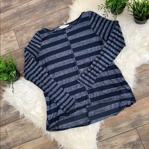 EUC Anthropologie thin long sleeved top - large